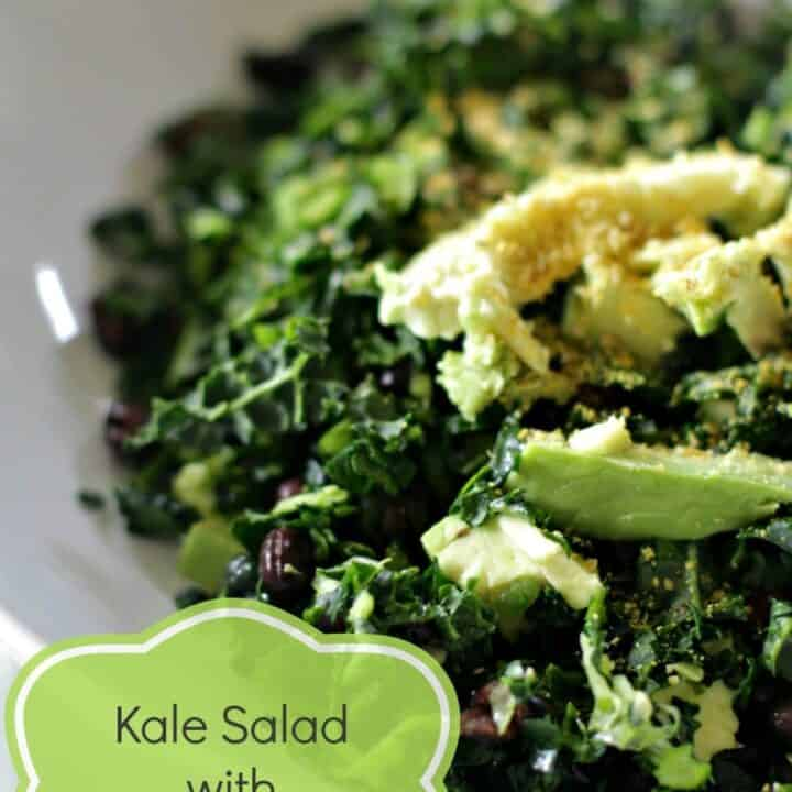 A Kale Salad Recipe (for people who hate kale)