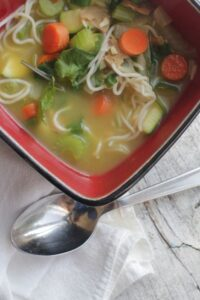 vegan chicken noodle soup recipe