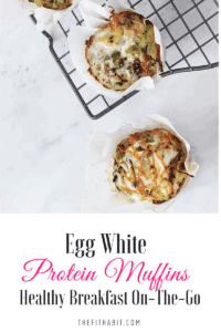 egg white protein muffin recipe