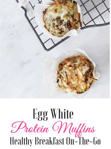 egg white protein muffin recipe
