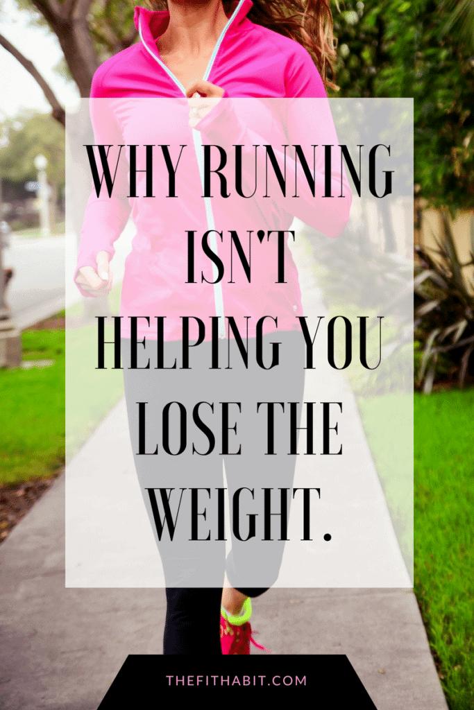 running weight loss