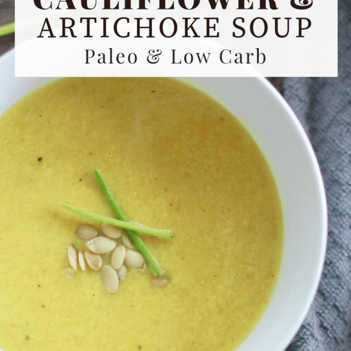 Cauliflower Artichoke Soup Recipe