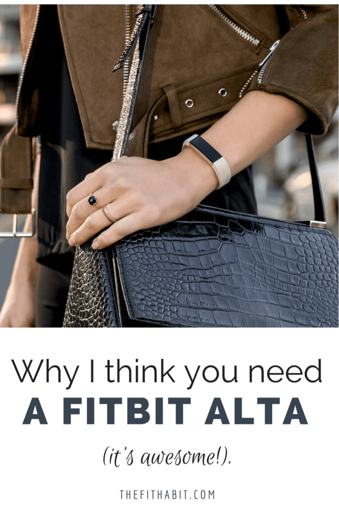 Fitbit alta lose weight