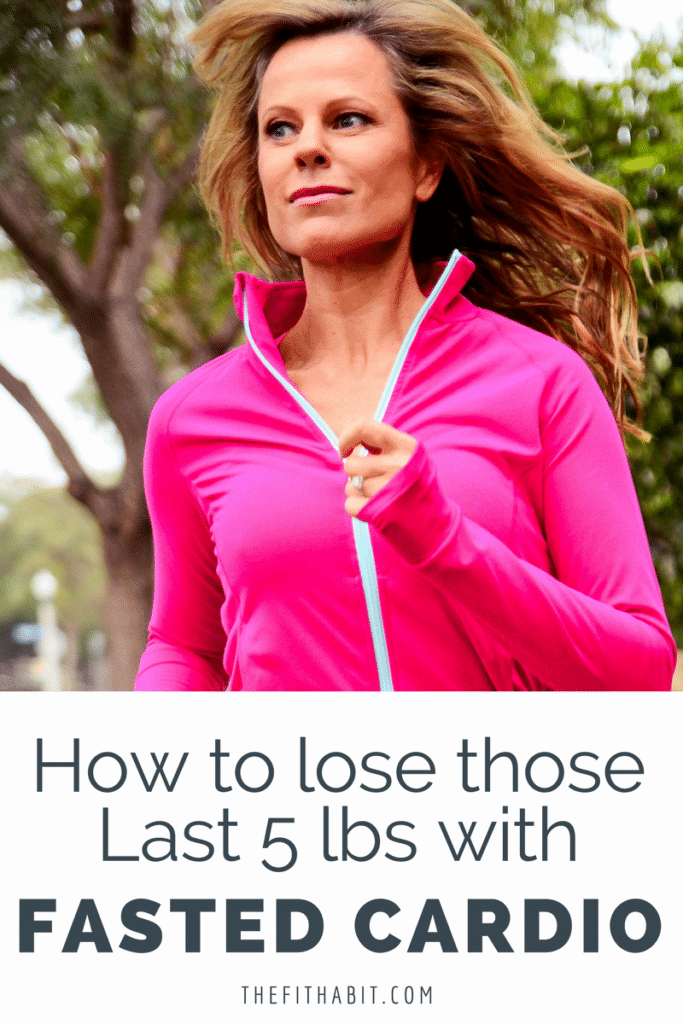 lose weight fasted cardio