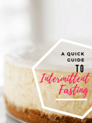 Intermittent Fasting for women | A quick guide to losing fat simply and effectively at any age