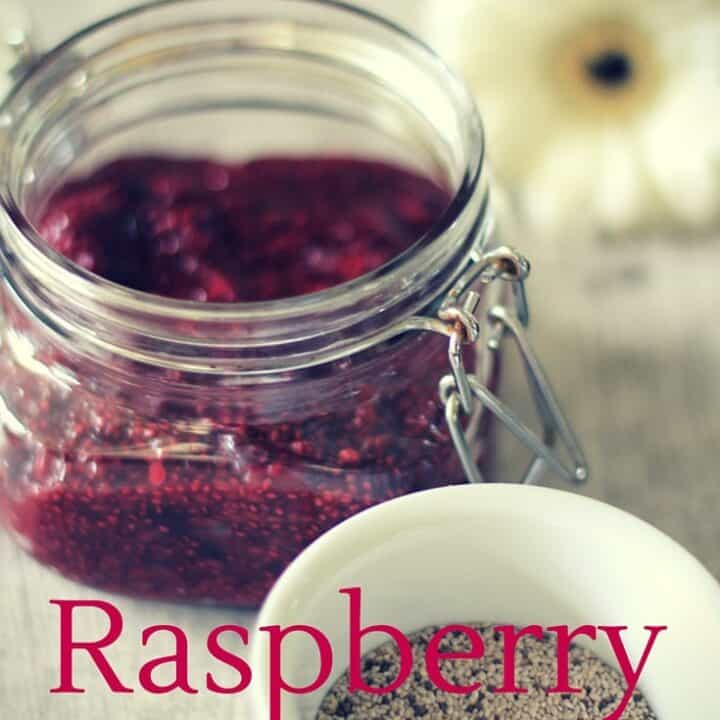 Raspberry Compote - A healthy, sugar-free alternative to jam