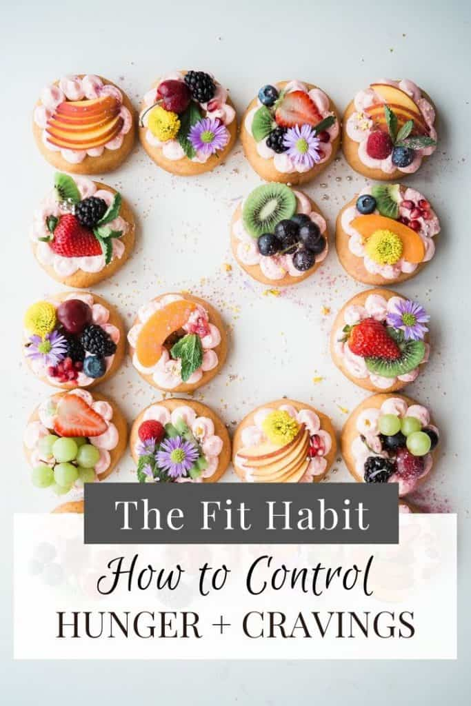 how to be less hungry all the time!  Three quick tips for controlling hunger and cravings for sugary and salty snacks.