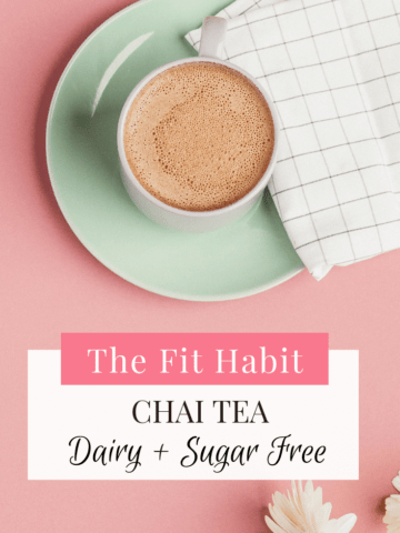 chai tea recipe dairy free and sugar free