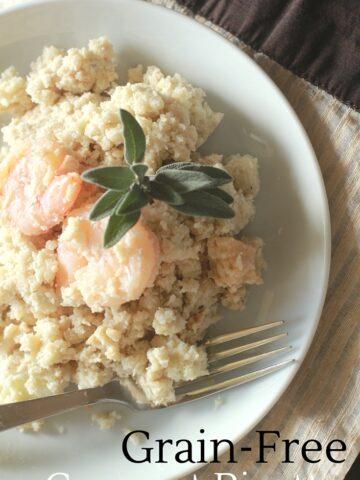 grain free risotto | Cauliflower risotto