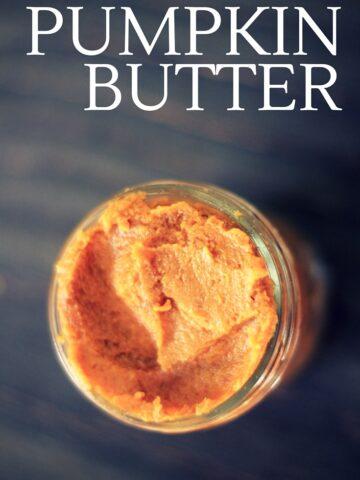 sugar free pumpkin butter