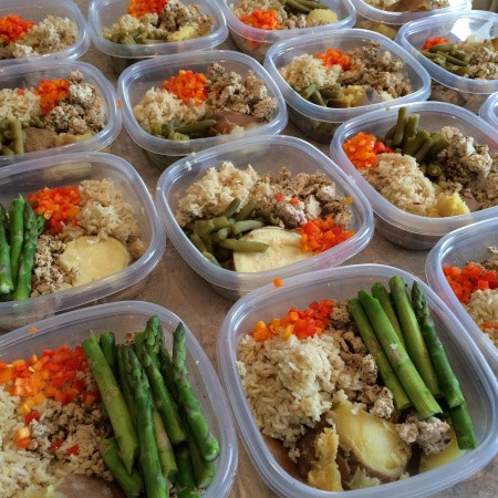 meal prep 6 meals a day