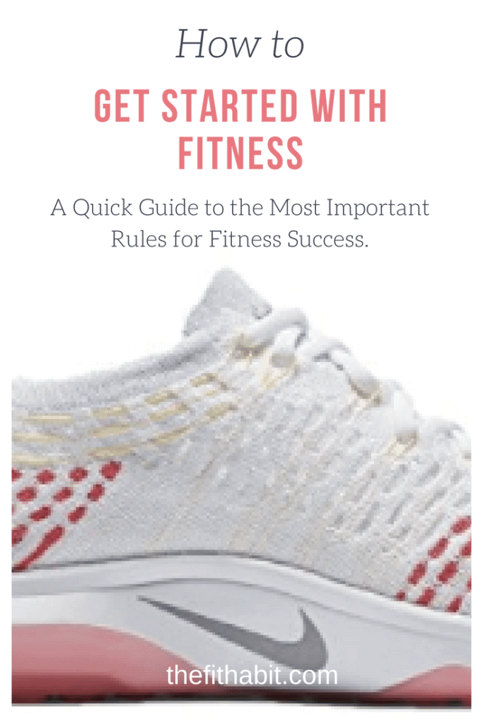 How to get started with fitness