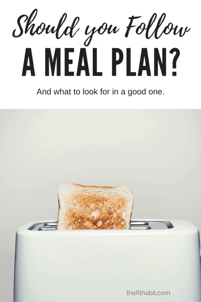 meal plan high protein