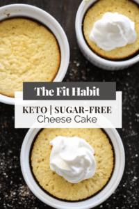 low carb cheese cake sugar free