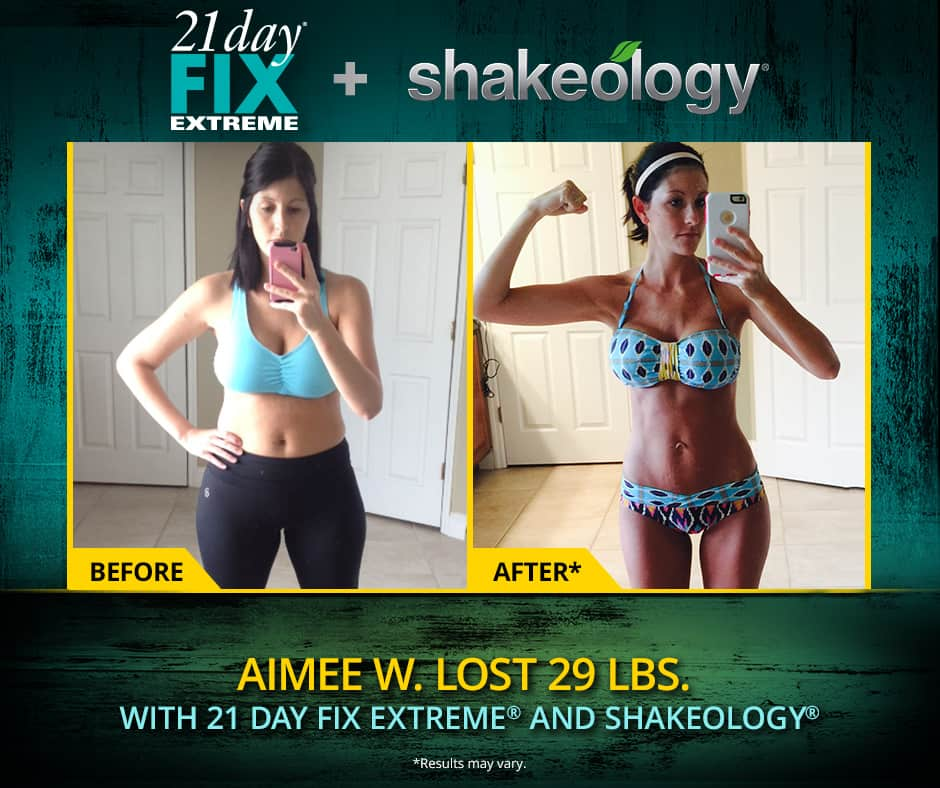 21 day fix extreme results for women | 21 days of workouts you can do anywhere