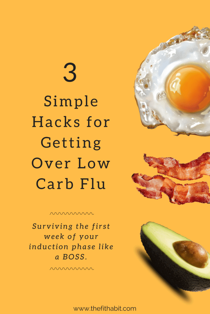 going low carb flu