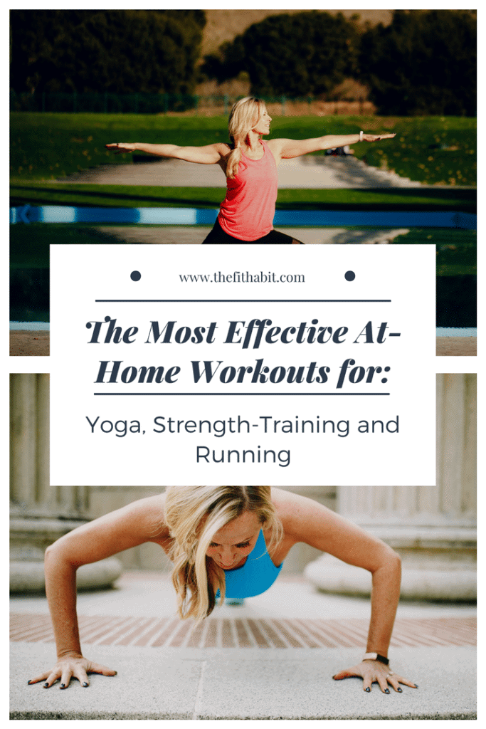 effective at home workouts running yoga