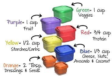 21 day fix container system