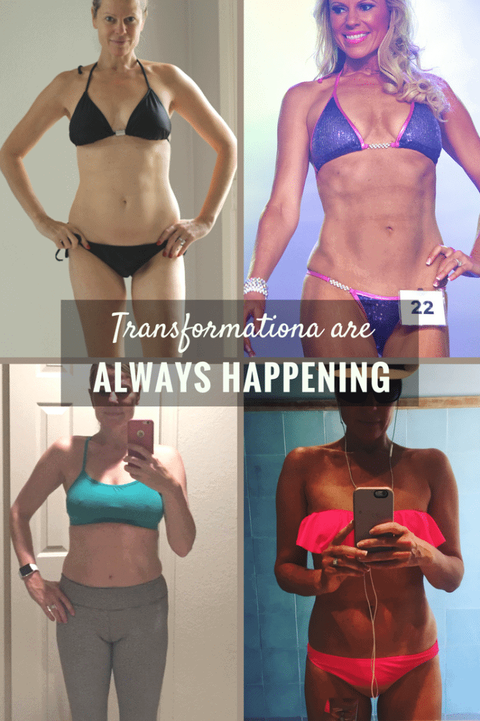 fit over 40 transformation (one of several). If you think you're too old to lose weight after age 40, you need to read this.