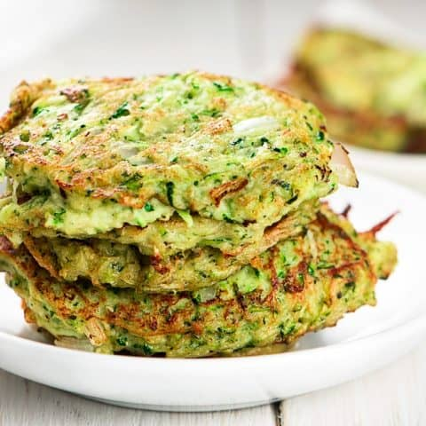 paleo zucchini fritter recipe