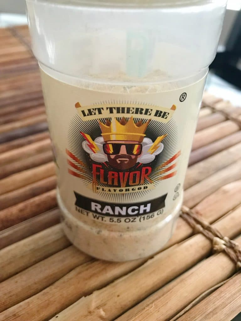 flavor gods ranch seasoning review