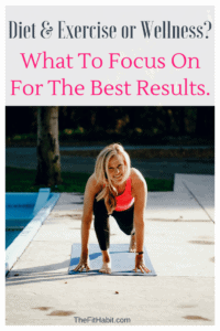 exercise, diet or wellness to get best results?