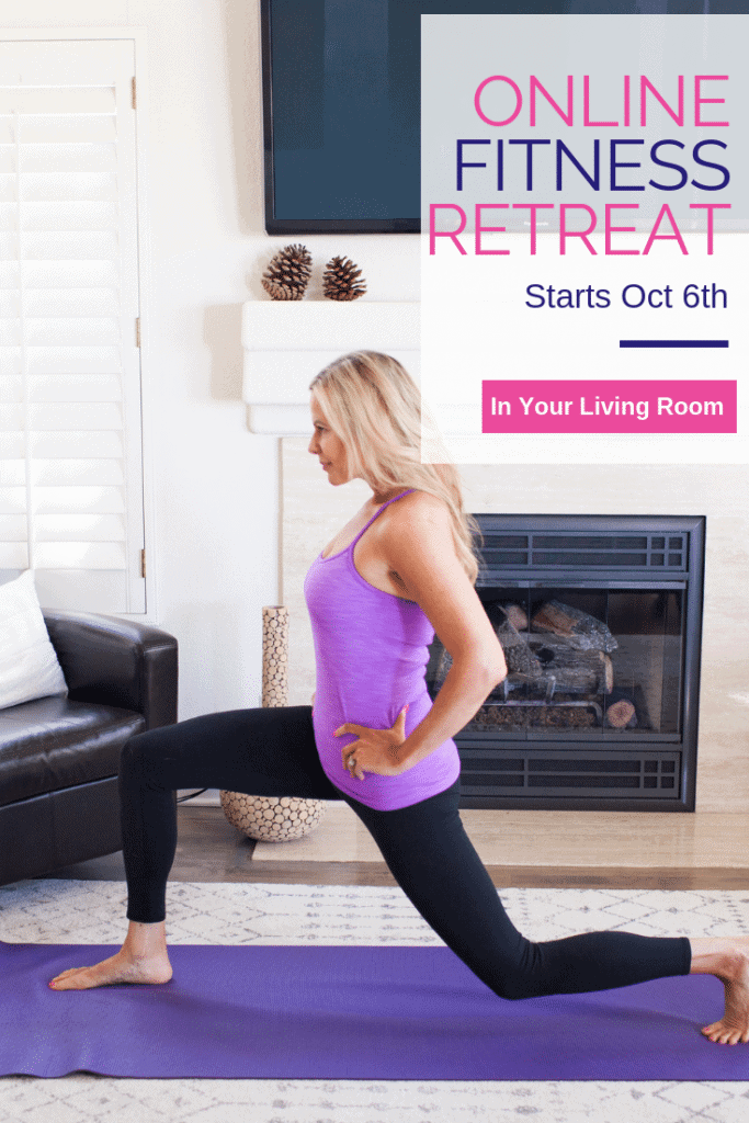 Online fitness coaching and retreat