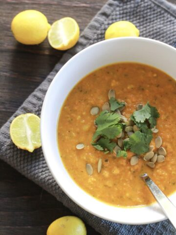 butternut ginger turmeric soup recipe