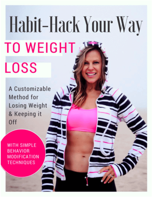 Habit control for weight loss