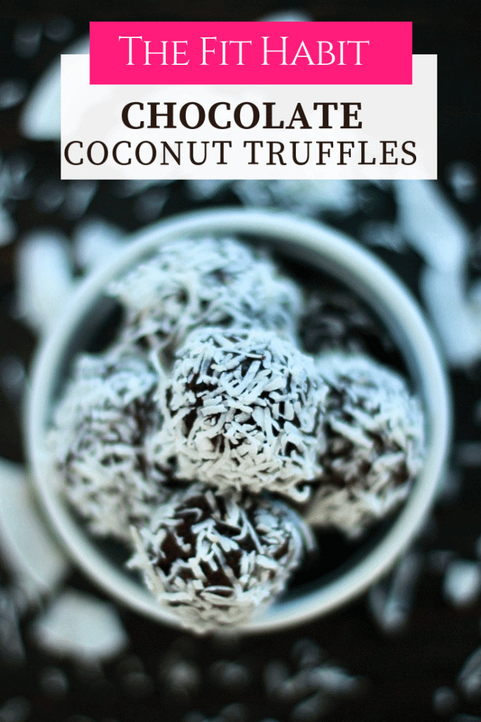 Simple Coconut chocolate truffle recipe