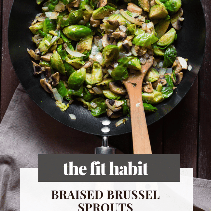 Braised Brussel Sprouts Recipe - Paleo & Whole 30