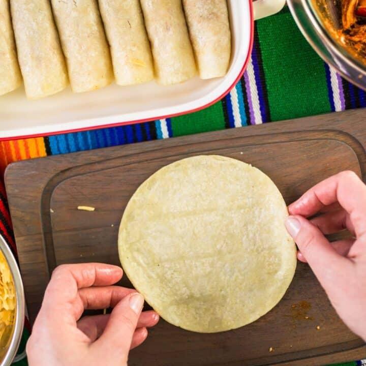 low carb tortilla for enchiladas