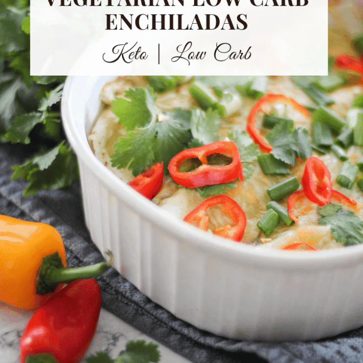 vegan low carb enchiladas