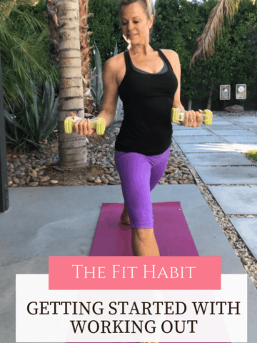 how to get started with working out