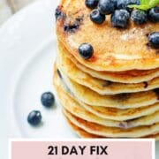21 day fix pancakes