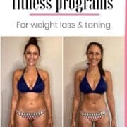 weight loss results through online fitness programs