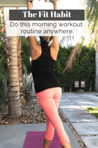 morning workout routine