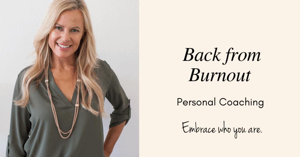 Burnout coaching for professional women