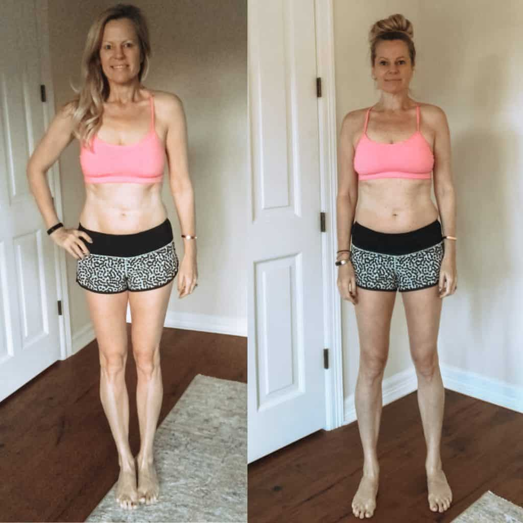 Barre Blend Before and After | My results after 8 weeks of a barre-inspired home workout program (low impact).