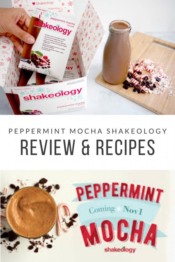 Peppermint mocha shakeology recipes