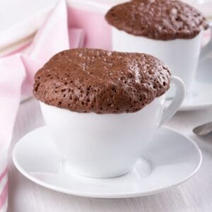 protein chocolate mug cake