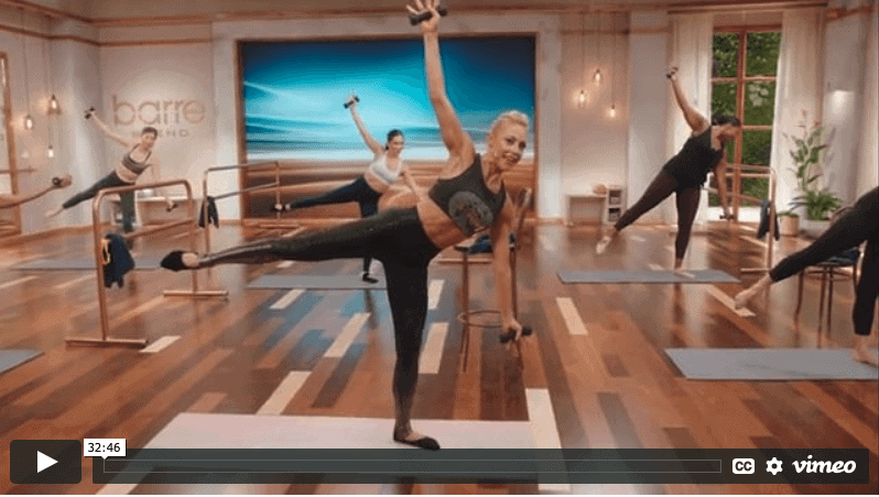 barre blend beachbody sample workout