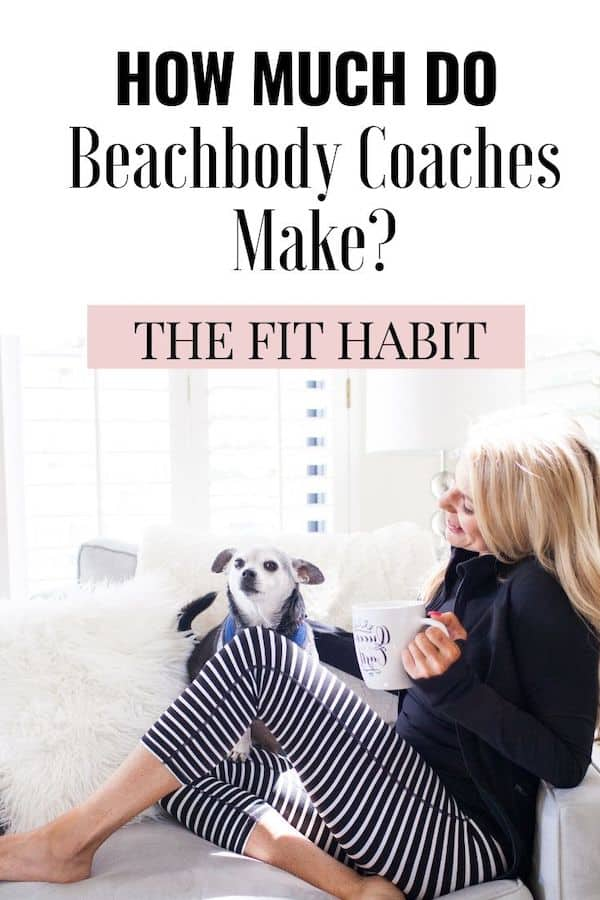 How much does a Beachbody coach make? | A breakdown of incomes by rank in the company