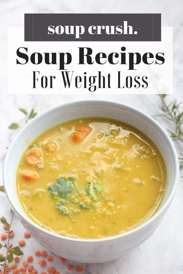 Learn why soups are so helpful for weight loss and snag my top three recipes!