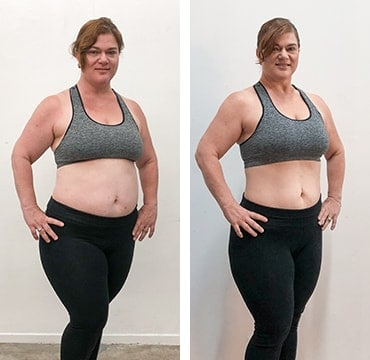 barre blend before and after results
