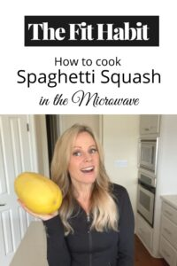 How to cook spaghetti squash in the microwave in less than 10 minutes. Simple, easy instructional video and what NOT to do! [video]