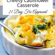 low carb cheesy casserole