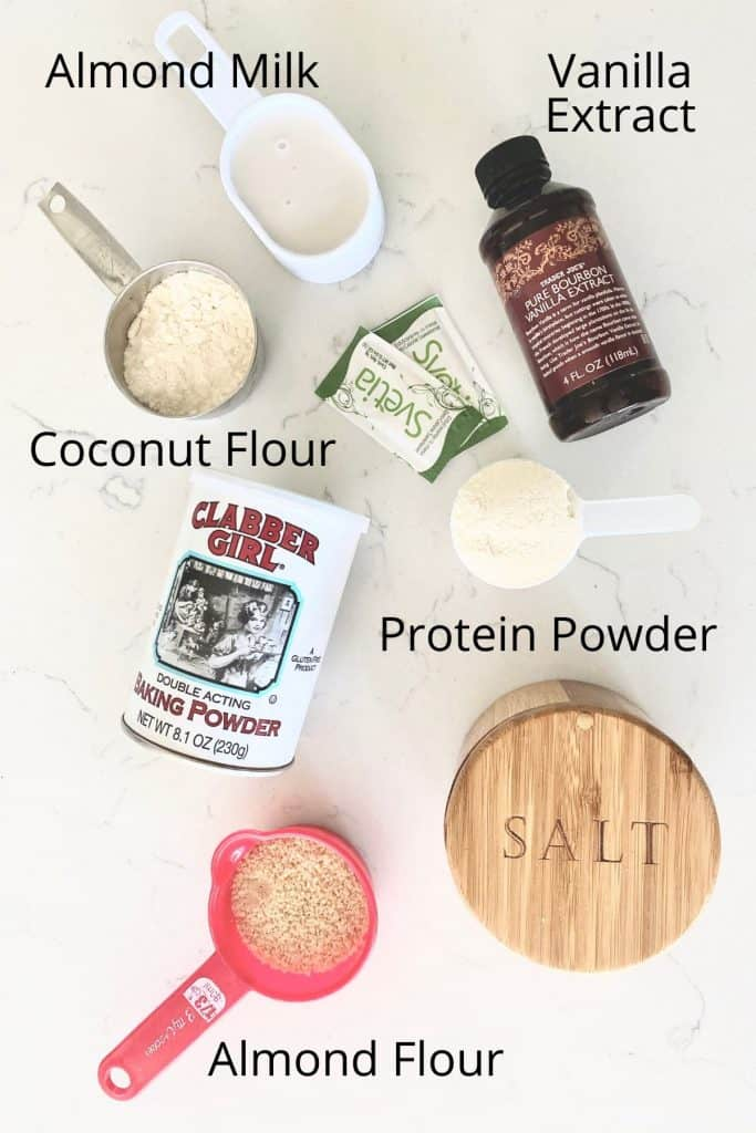 ingredients for protein pancakes