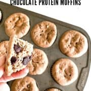 chocolate muffins - 21 day fix