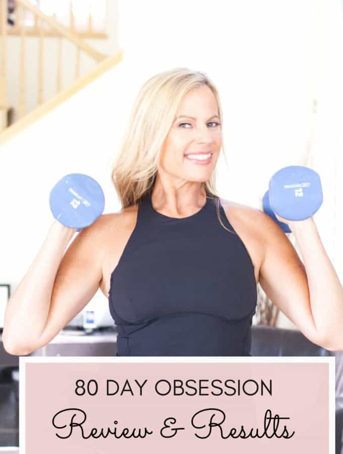 80 Obsession woman working out